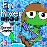 En hiver ❅ FREE ❅ French Emergent Reader