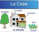 En la Casa (Spanish House Vocabulary with Project)