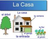 En la Casa (Spanish House Vocabulary with Project)