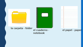 En la Clase Spanish Powerpoint