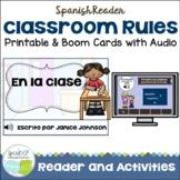 Spanish Class Rules Reader {En la clase} & Sorting Page {Las reglas en español}