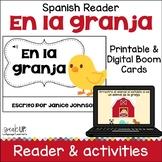 En la granja Spanish Farm Animal Reader ~ includes BOOM™ Version with Audio