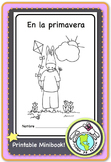 En la primavera Spring Printable Spanish Minibook Resources