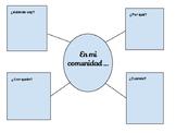 En mi comunidad - Brainstorming Web