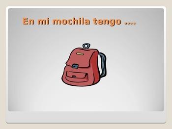 En mi mochila