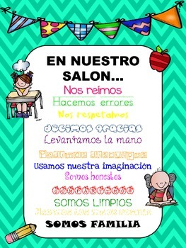 In Our Class - En nuestro salon