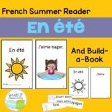 En été French Summer Reader & Build-A-Book {en français}