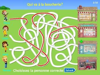 En ville / Ma ville / Ma region / In town / My town / Places in town