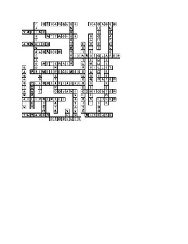 En voyage (Travel in French) crossword