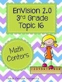 EnVisio 2.0 Math Centers Grade 3 Topic 16