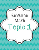 EnVision 2nd grade Math Topic 1 Addition and Subtraction 1.1 to 1.7
