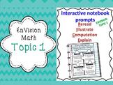 EnVision 2nd grade Topic 1 Add/Sub Interactive R.I.C.E. notebook BUNDLE