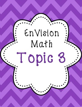 EnVision 2nd grade Topic 3 Subtraction