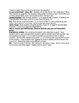 EnVision Grade 1 Topic 2 (2-1)