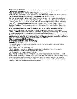 EnVision Grade 1 Topic 2 (2-6)