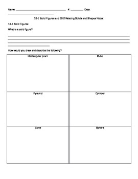 EnVision Grade 3 Topic 10 Math Journal and Activities Templates