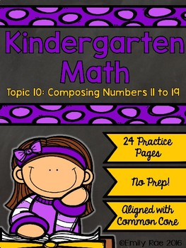EnVision Kindergarten Topic 10