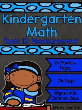 EnVision Kindergarten Topic 12