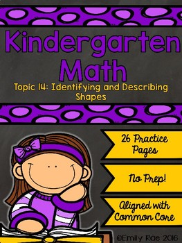 EnVision Kindergarten Topic 14