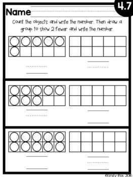 EnVision Kindergarten Topic 4