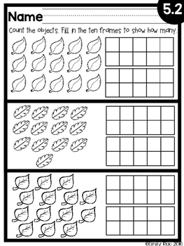 EnVision Kindergarten Topic 5