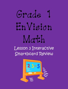 EnVision Lesson 3 First Grade Review