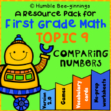 First Grade Math -  Topic 9; Compare Two-Digit Numbers