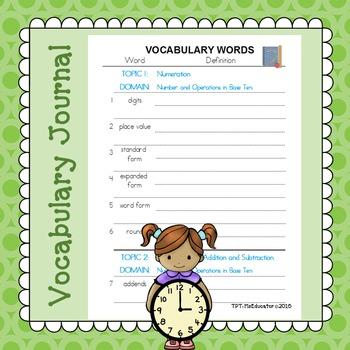 EnVision Math Common Core - 3rd Grade BUNDLE