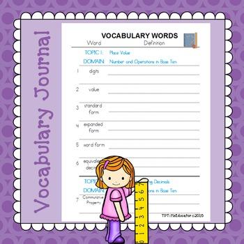 EnVision Math Common Core - 5th Grade BUNDLE