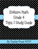 EnVision Math 4th Grade Topic 1 Study Guide