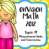 EnVision Math 4th Grade Topic 14 Measurement Units and Conversions Powerpoint