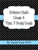 EnVision Math 4th Grade Topic 3 Study Guide