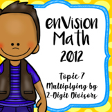 EnVision Math CCSS Grade 4 Topic 7 Multiplying by 2-Digit Numbers, Powerpoint