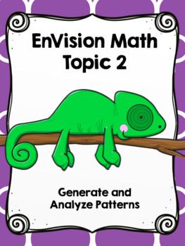 EnVision Math (Common Core Edition) 4th Grade Topic 2 Focus Wall
