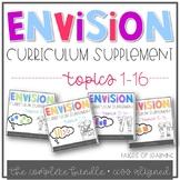 EnVision Math Curriculum Supplement COMPLETE BUNDLE (Topics 1-16)