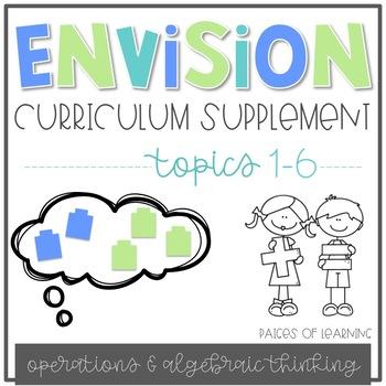 EnVision Math Curriculum Supplement (Topics 1-6)