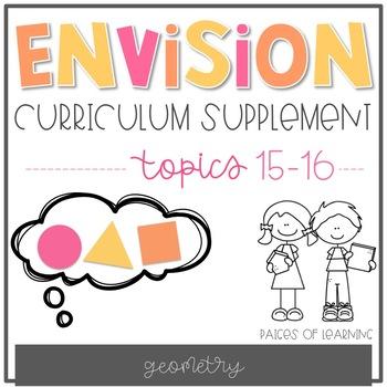 EnVision Math Curriculum Supplement (Topics 15-16)