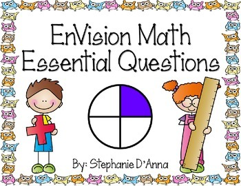 EnVision Math Essential Questions First Grade with Owls