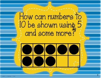 EnVision Math Essential Questions First Grade with Stripes