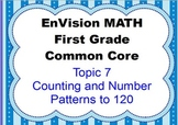 EnVision Math First Grade Topic 7 for SMARTBOARD