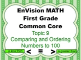 EnVision Math First Grade Topic 9 for Smartboard