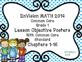 EnVision Math Grade 1 Posters