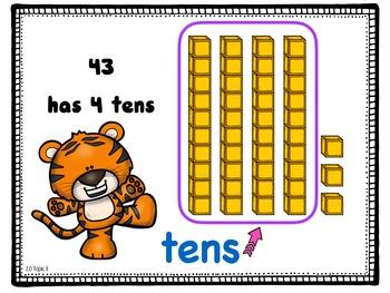 First grade Math - Topic 8; Understanding Place Value