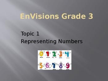 EnVision Math Grade 3 Topic 1