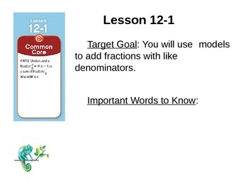 EnVision Math Grade 4: Topic 12 Power Point