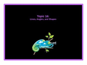 EnVision Math Grade 4: Topic 16 Power Point