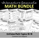 EnVision Math Interactive Notebook/Journal Bundle Topics 3