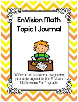 EnVision Math Topic 1 Journal