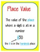 EnVision Math Topic 1 Vocabulary Anchors