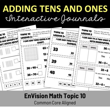 EnVision Math Topic 10 Journal